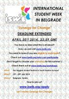 International Student Week in Belgrade