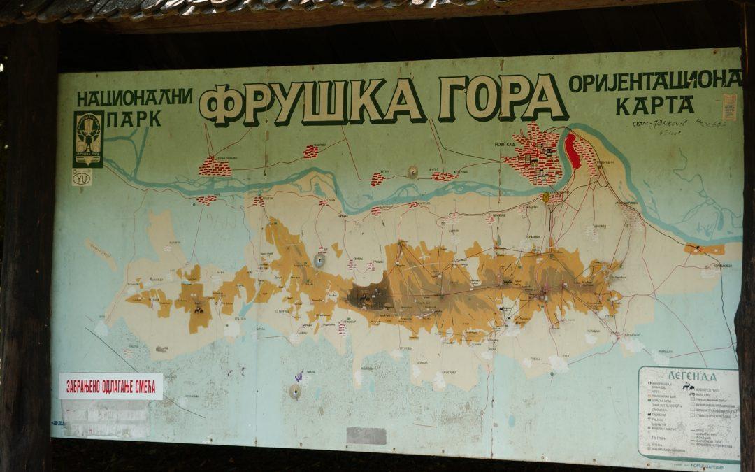 Agreement between NP Fruška Gora and BUM
