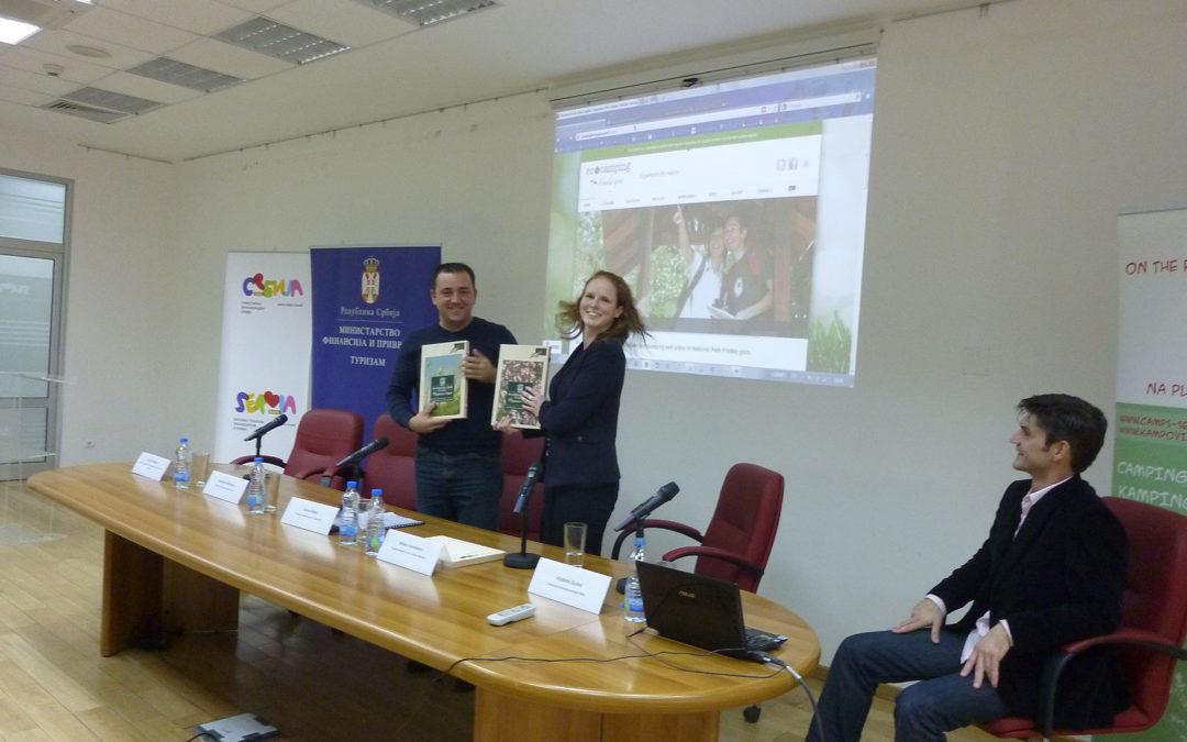 """Prezentacija projektnih rezultata """"Održivi razvoj NP Fruška gora"""""""