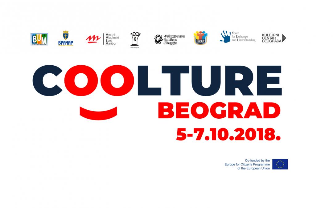 COOLtura- Novi trendovi, nove priče (Beograd, 5-7.10.2018.)