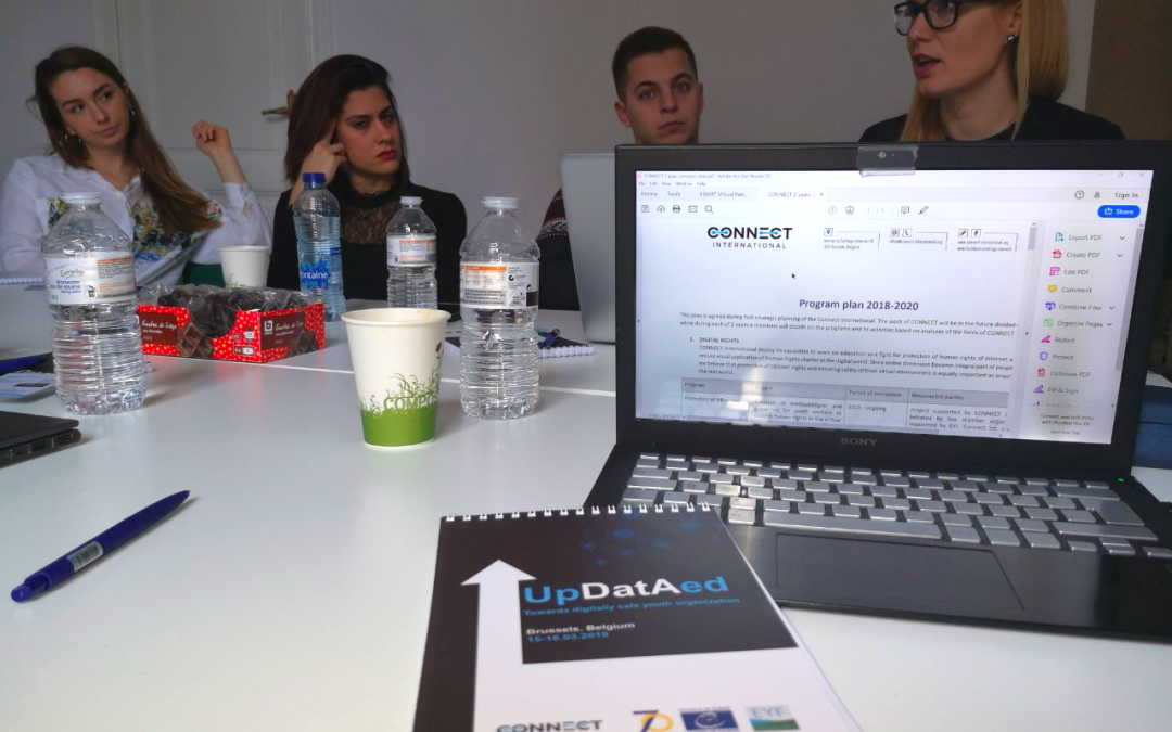 Preparatory meeting within the UpDatAed project held in Brussels