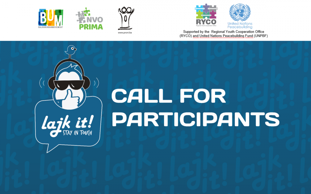 Balkan Lajk It – Call for Participants