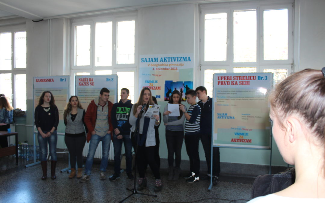 Activism Fair of 2015 was implemented