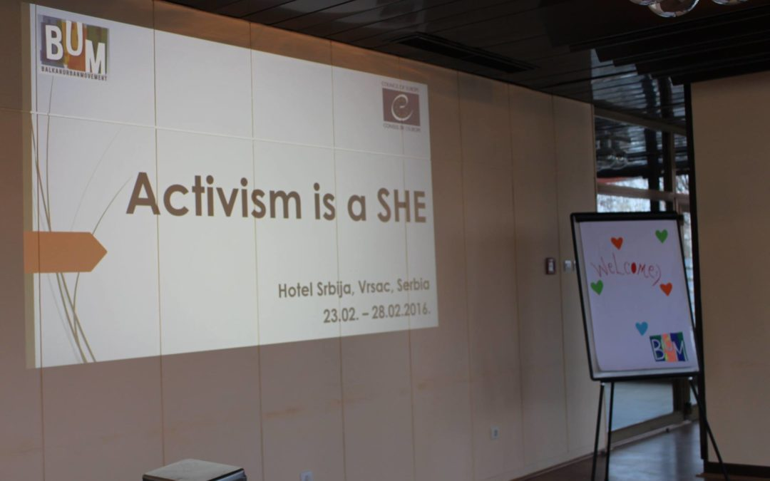 Activism is a She