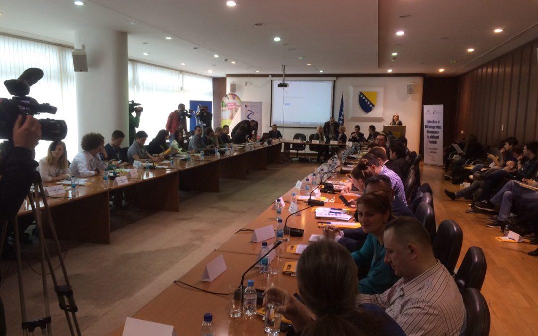 Erasmus+ info day held in Sarajevo