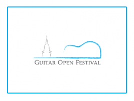 Brochure about the Guitar Open Festival