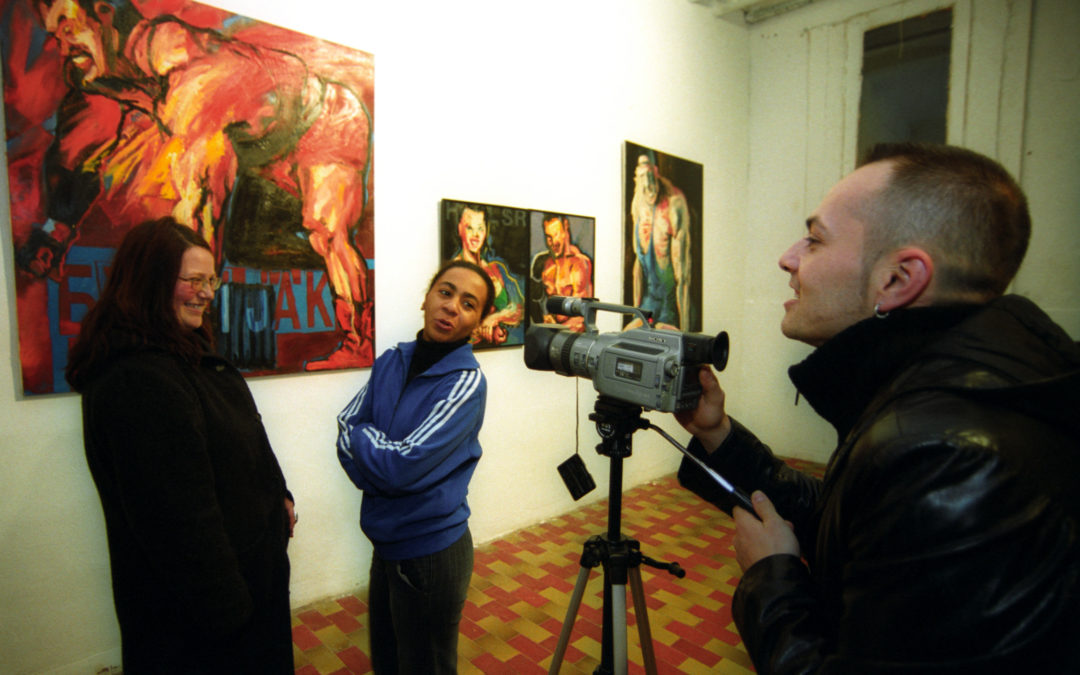 Promotion of young Belgrade artists in Ljubljana