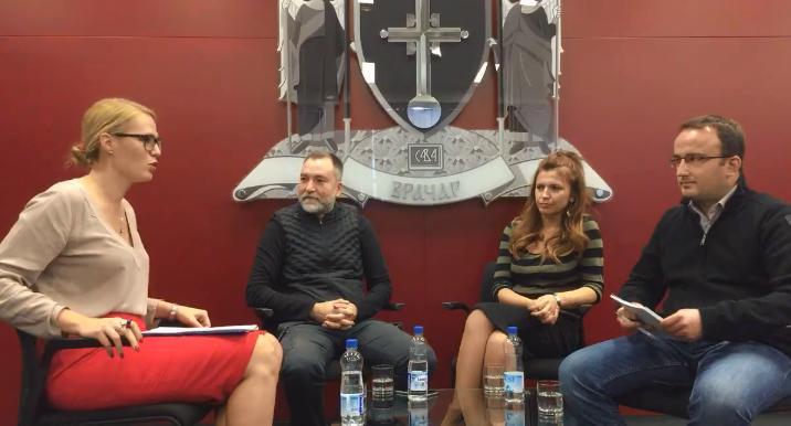 """Održana tribina """"Aktiviraj umetnost"""" u okviru Nedelje kulture na Vračaru"""