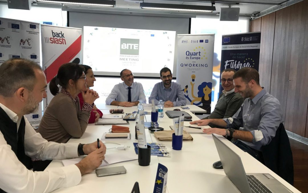 BITE of Art team meeting held in Valencia