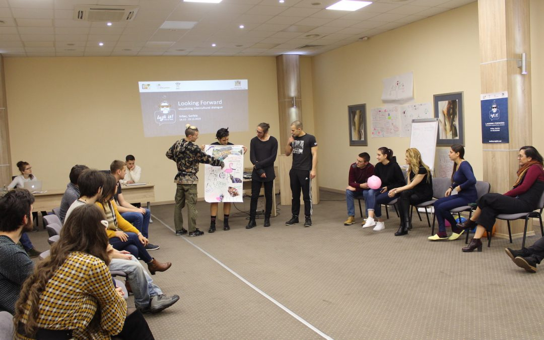 "Training for trainers within project ""Looking Frward"" held in Vrsac, Serbia"