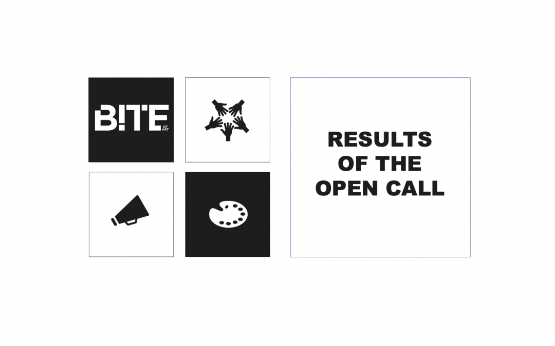 Results of the BITE of Art Open Call